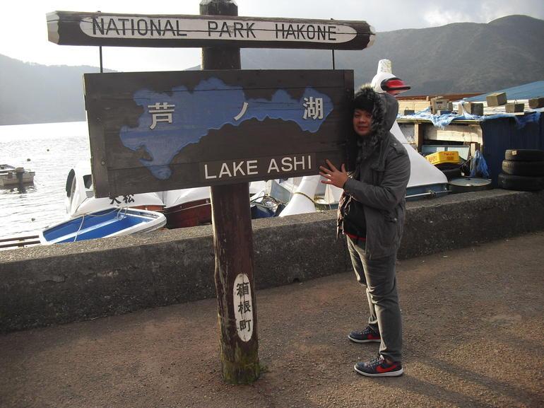Lake Ashi entrance - Tokyo