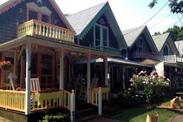 """""""Gingerbread"""" houses, Jules & Brock - July 2012"""