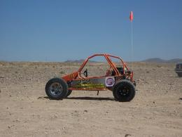 Riding the dunes of Nellis, Nicks - May 2012