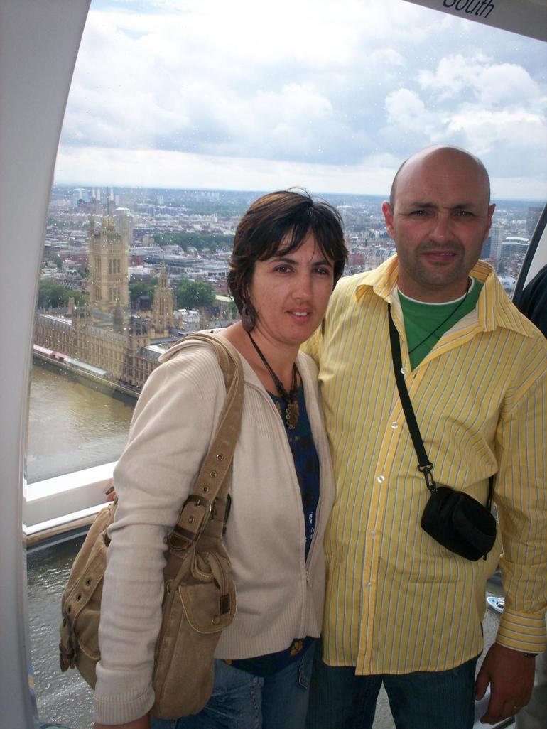 On the London Eye - London