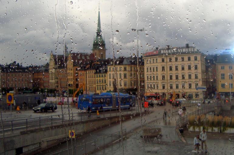 On the tour bus - Copenhagen