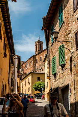 A visit to Montepulciano. , Dan's Travel - June 2016