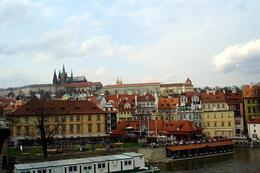 View of the castle from the Charles Bridge, World Traveler - October 2010