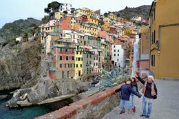 at Riomaggiore , armtrid - February 2012