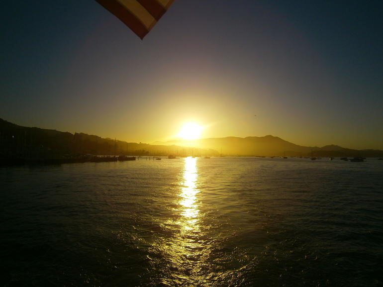 Sunset over Sausalito - San Francisco