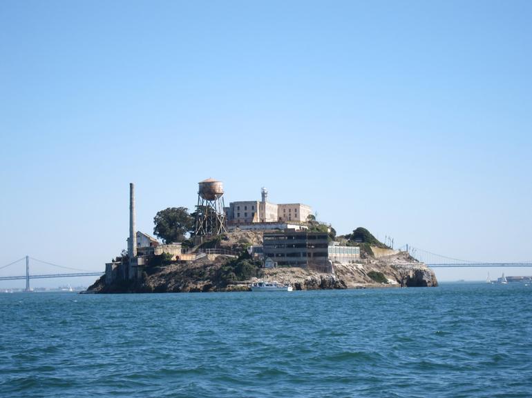 The famous Alcatraz Island -