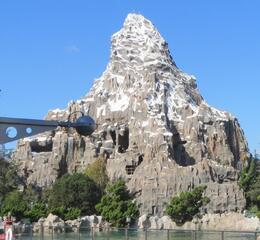The infamous bobsled rollercoaster ride at Disneyland. , drealone - November 2013