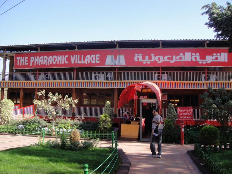 The Pharaonic Village Entrance - Cairo