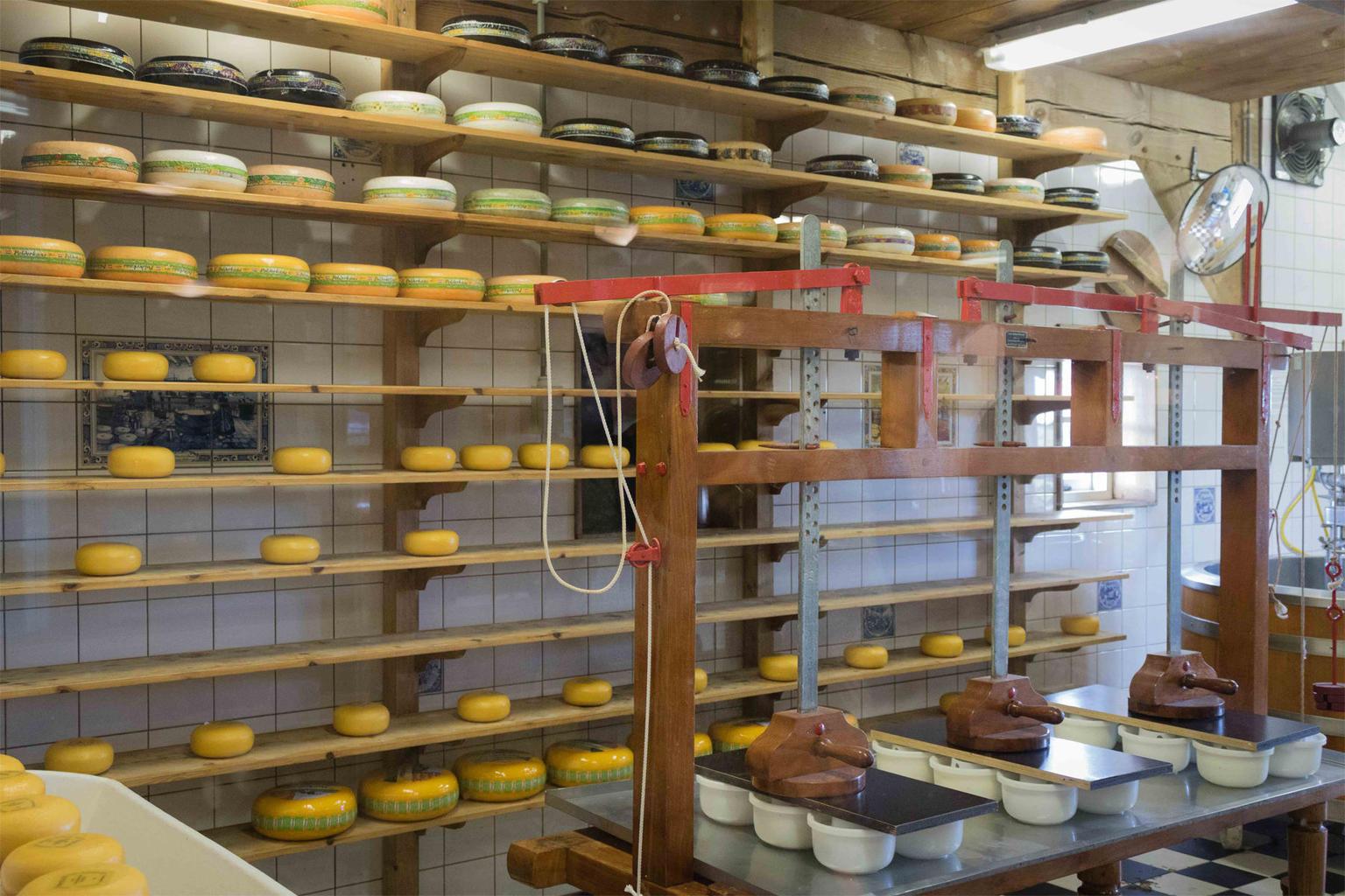 MAIS FOTOS, Excursão de meio dia saindo de Amsterdam para Zaanse Schans: moinhos de vento, Museu do Tamanco e fazenda de queijos