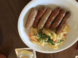Nuremberg Sausages. Very good! , Brian R - April 2017
