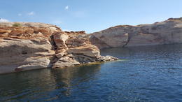 Rock formation on Lake Powell , Richard L - October 2017
