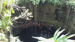 The cenote. Bathrooms and life jackets are provided. , francoln - October 2017