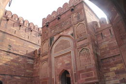 Entrance to the Agra Fort - September 2012