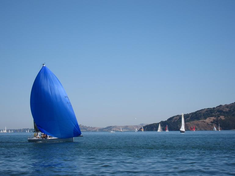 Angel Island Spinnaker -