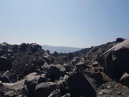 gorgeous black rocks on Nea Kameni new burnt. Stunning! , Rachel C - August 2016