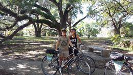 A very fun bike tour through New Orleans , Marlin N - April 2016