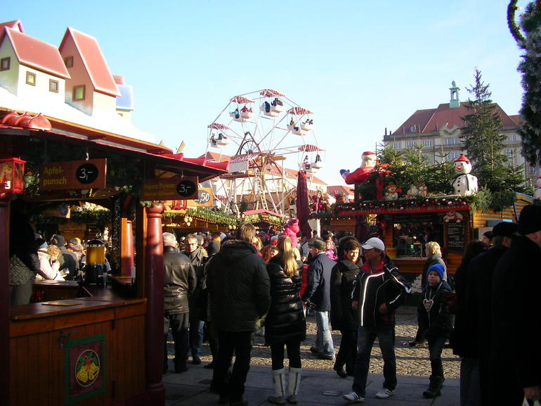 Christmas market in Dresden - Prague