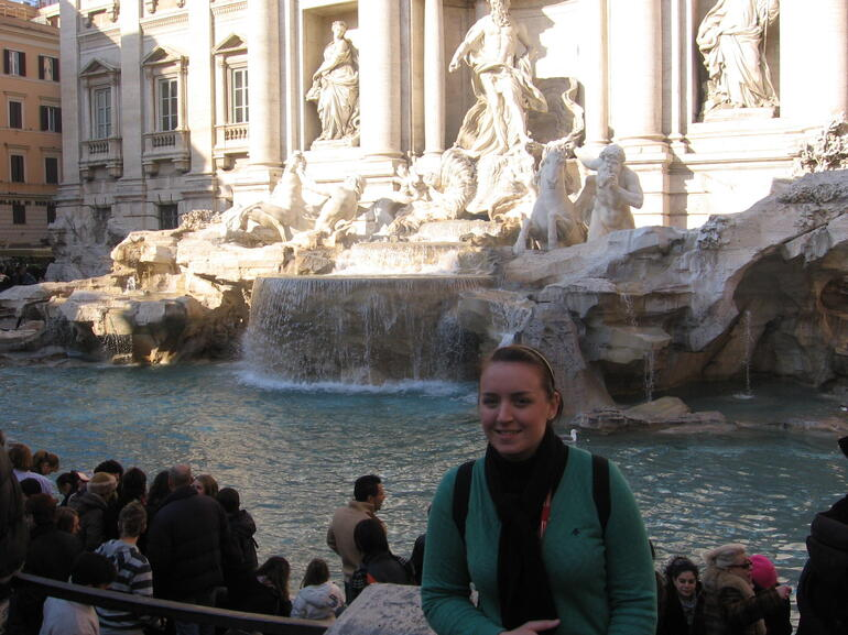 Fountain de Trevi- Rome -