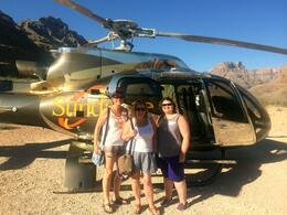 Jude, Mel and Carol enjoying the trip of a lifetime to round off our USA road trip! , judeproc - August 2014