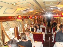 In the tram - November 2009