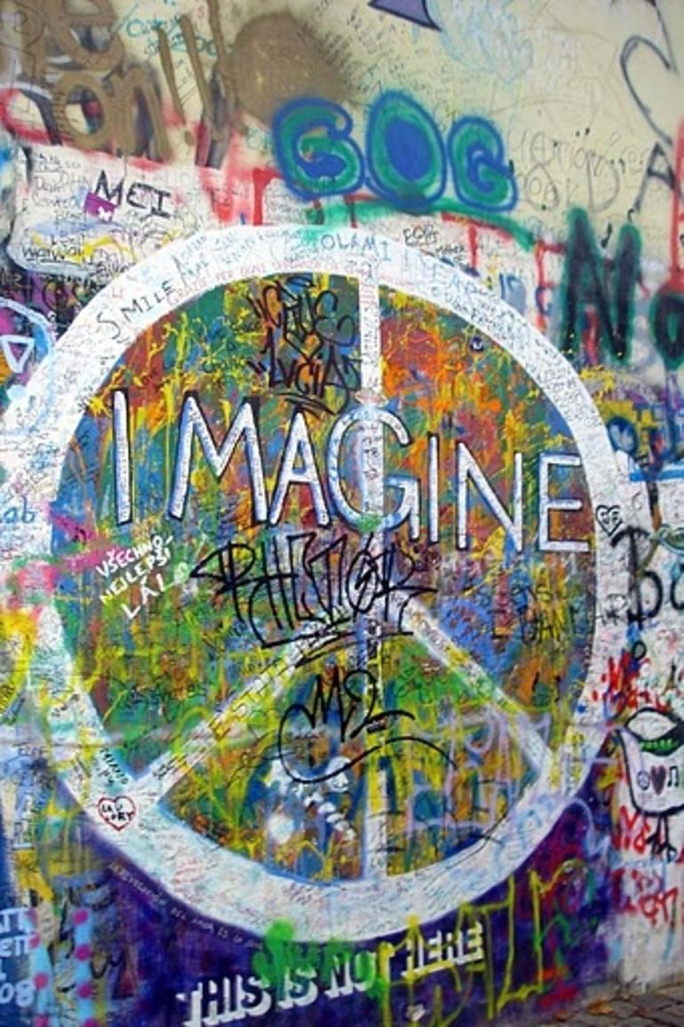 John Lennon Wall - Prague