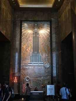 Lobby of the Empire State Building, AM - June 2016