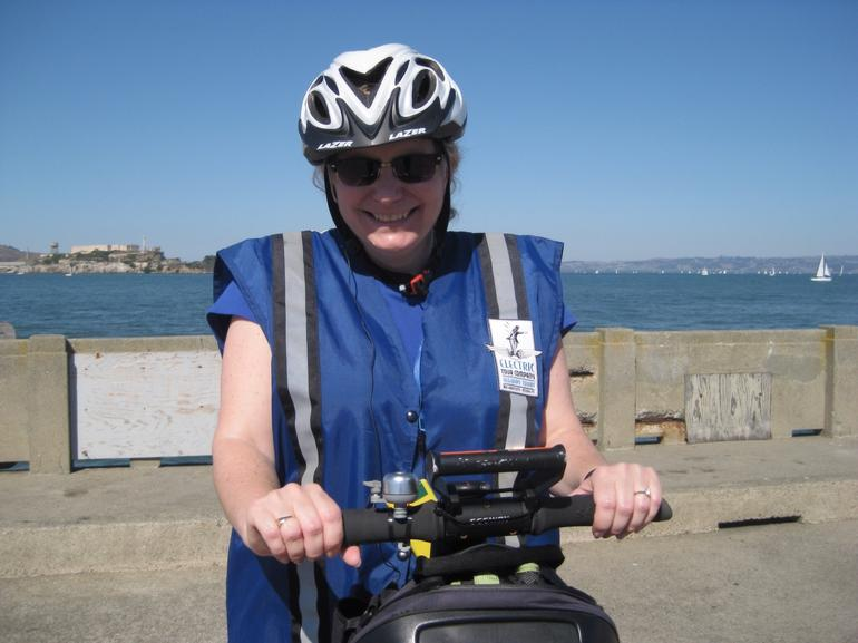 Loving the 'oh so stylish' safety gear - San Francisco