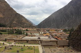 The view from Ollantaytambo, Bandit - December 2016