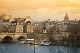Paris View Pont Neuf and Latin Quarter - May 2011