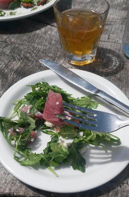 Yummy and refreshing arugula and beet salad, Emily G - April 2015