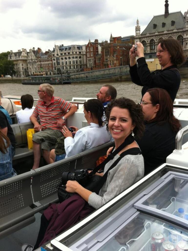 Thames river ride - London