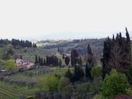 Taken from San Gimignano., Susan H - April 2008
