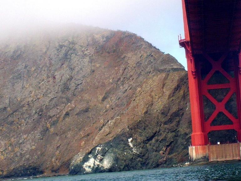 Under the Golden Gate bridge - San Francisco
