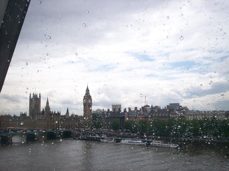 View from London Eye - London