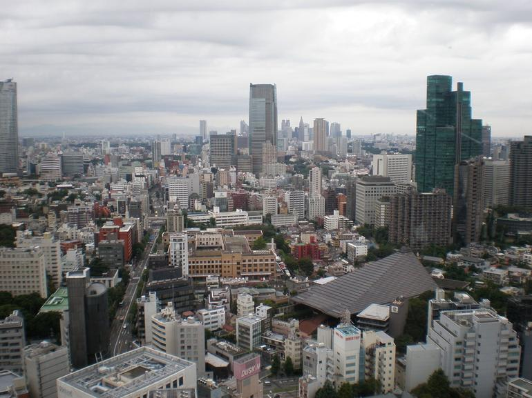 View from Tokyo Tower - Tokyo