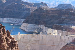 the hoover dam, taken at one of the stops on the way , Keith A - January 2017