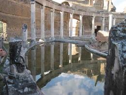 Hadrian's villa , M. Elizabeth M - August 2011