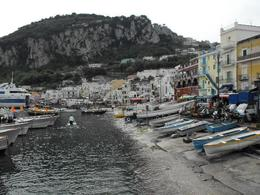 The port at Capri, Christa V - May 2010