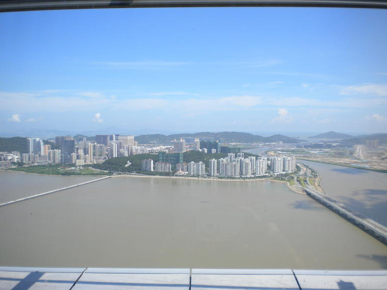From Observation Deck of Macau Tower - Hong Kong