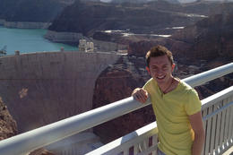 Brock at the Hoover Dam!, Jules & Brock - August 2012