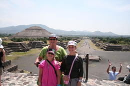 and quot;I was there and quot; shot at Teotihuacan. , Wendy S - October 2011