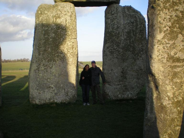 inside the Stonehenge - London