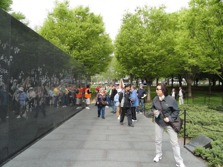 Korean Monument - Washington DC