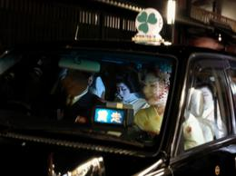 Maiko in Gion. They are like movie stars. People gather on either side of the street corners waiting for a glimpse of these beautiful ladies. , Panda - November 2013