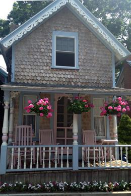 """Gingerbread"" house, Jules & Brock - July 2012"