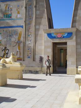 My picture at Great Temple, Cromaris - January 2010
