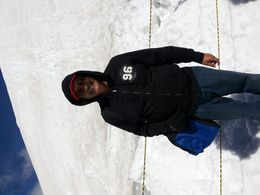 My first experience with snow................ , Aspi S - September 2015