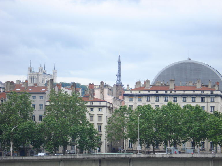 Opera House from the back - Lyon