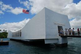 The USS Arizona Memorial, in Pearl Harbor, Jeff - February 2008