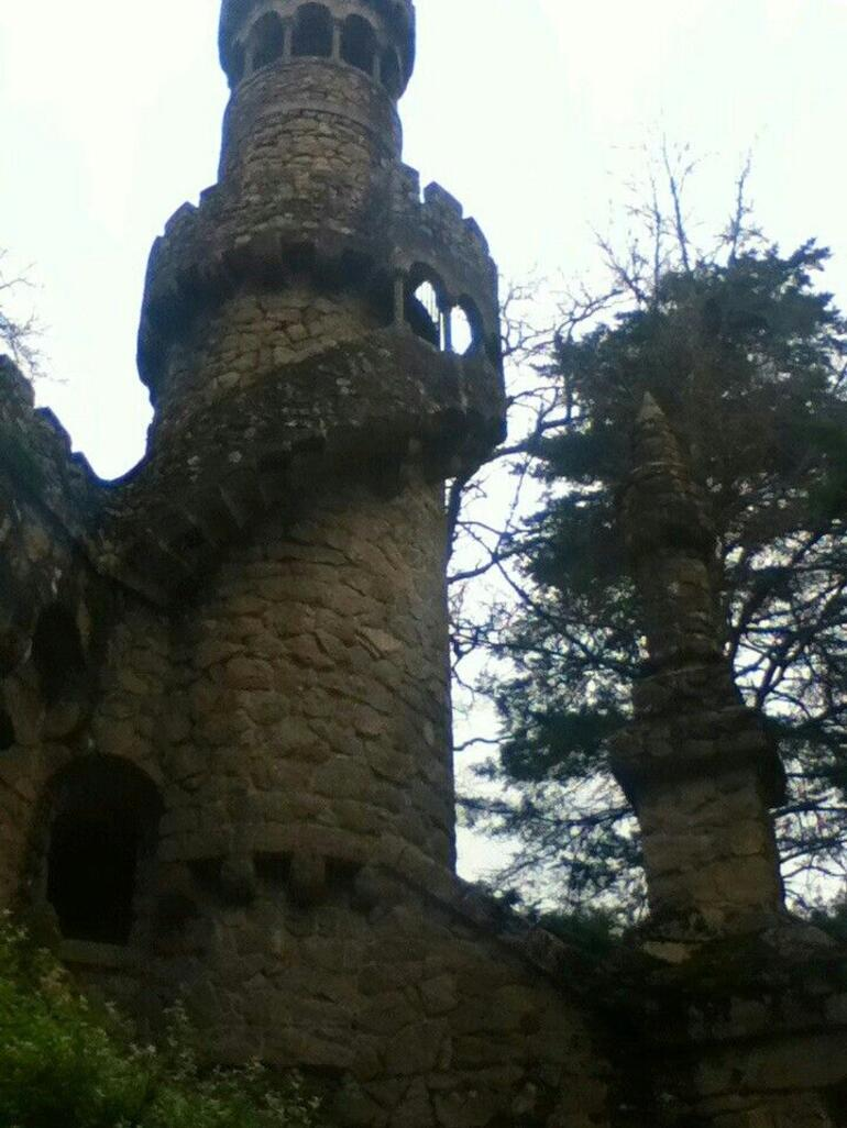Quinta de Regaleira garden and palace - Lisbon